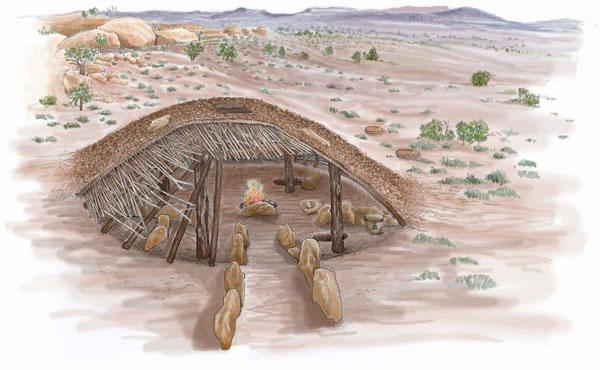 Basketmaker Ii Housing Peoples Of Mesa Verde