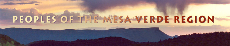 Peoples of the Mesa Verde Region banner