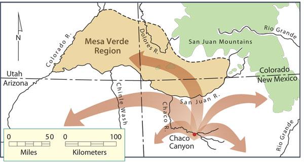 Resultado de imagen de Mesa Verde y Pueblo Chaco
