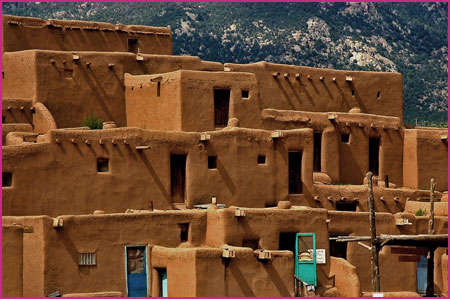 Modern Houses Pueblo Indian History for Kids