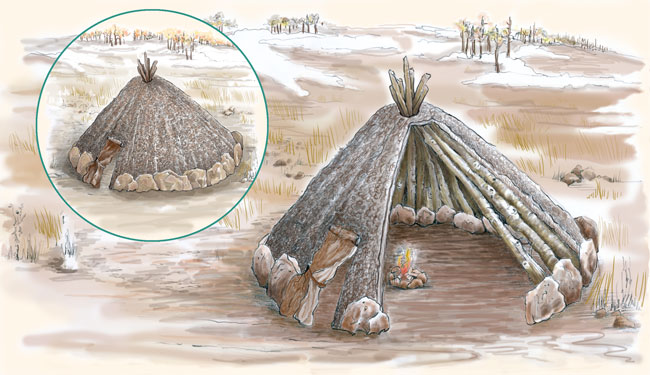 Paleoindian Houses Pueblo Indian History For Kids