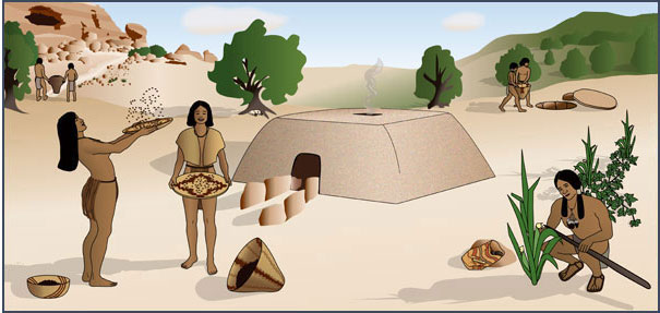 an overview of the origin history and lifestyle of the pueblo indians Miami indian culture __ miami indian culture and other information about their past lifestyle  overview of the history  history central __ the miami indians .