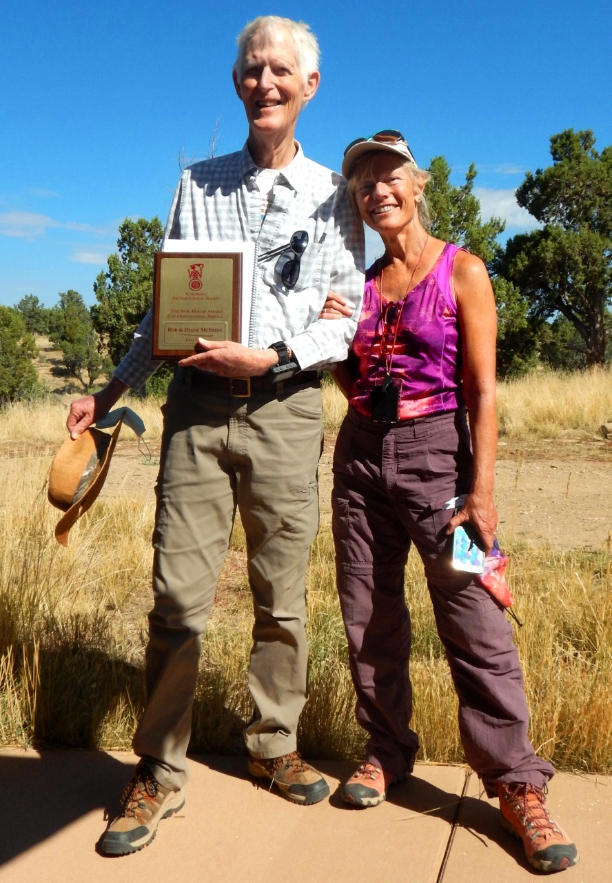 Cortez Locals Bob and Diane McBride Awarded Prestigious Ivol K. Hagar Archaeological Award
