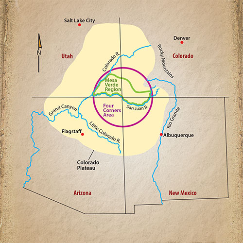 map geographic archaeological boundaries