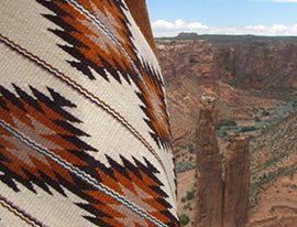 A Look at the History and Culture of Navajo Weaving - Crow
