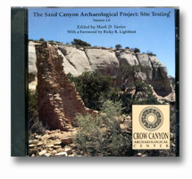 sand canyon site testing DVD