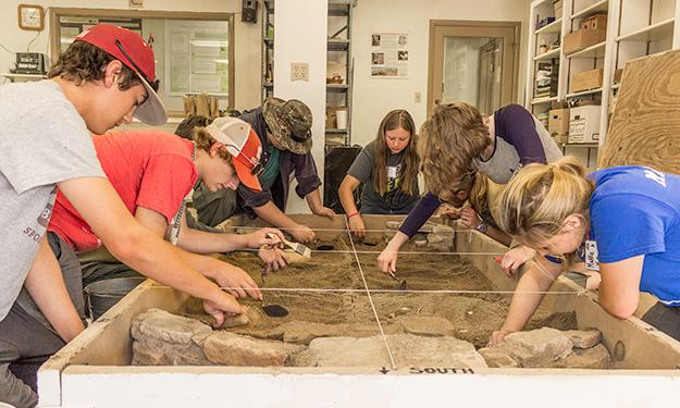 Archeology teen summer camps