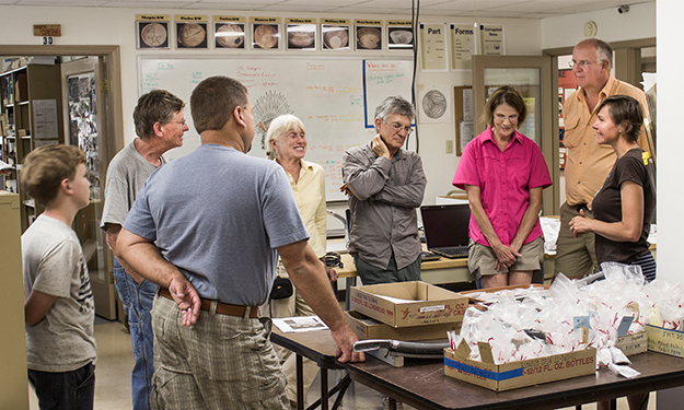 Tour an archaeology lab