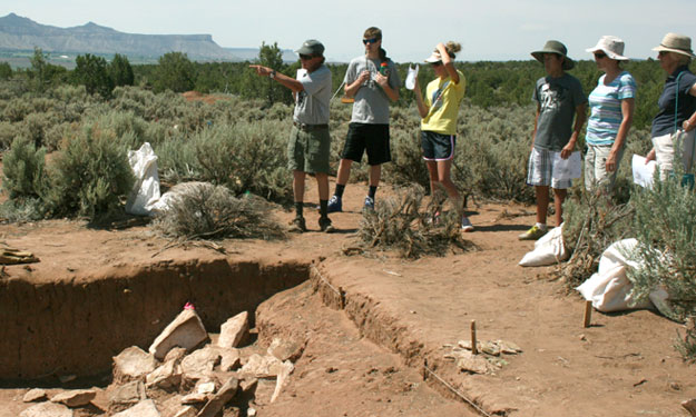 Tour an archaeology dig