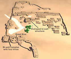 Goodman Point Pueblo map