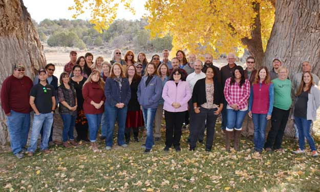 Crow Canyon staff photo, 2017