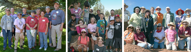 People of all ages support Crow Canyon's mission through membership.
