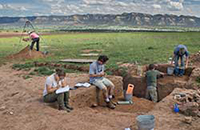 archaeological excavation at Crow Canyon